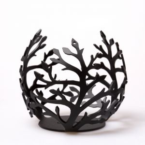 branch lantern black